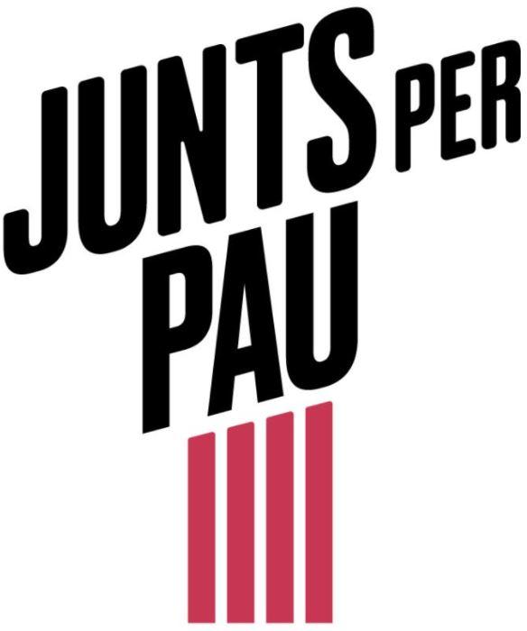 Logo Junts per Pau (JxP-JUNTS)