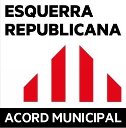 Logo Esquerra republicana de Catalunya - Gent de Tordera - Jovent Republicà - Acord Municipal (ERC -GdT-JOVENT-AM)