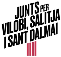Logo Junts per Vilobí, Salitja i Sant Dalmai (JxCAT-JUNTS)
